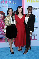 """LOS ANGELES - AUG 7:  Ginnifer Goodwin, Lucy Liu, Kirby Howell-Baptiste at the """"Why Women Kill"""" Premiere at the Wallis Annenberg Center on August 7, 2019 in Beverly Hills, CA"""