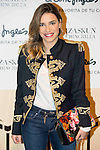 Fiona Gonzalez during the photocall at the VIP Room in ARCO Madrid, February 24, 2016.(ALTERPHOTOS/BorjaB.Hojas)