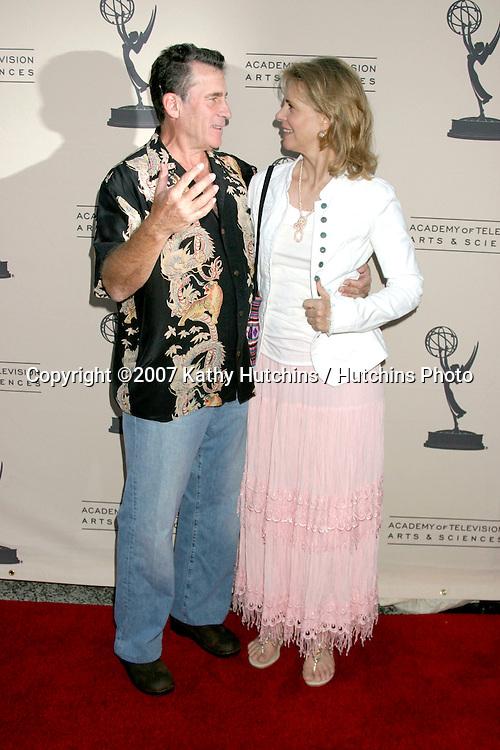 Paul Michael Glaser & Lindsay Wagner.Emmy Stunt Peer Group Reception.The Academy of TV Arts & Sciences.No. Hollywood, CA.August 11, 2007.©2007 Kathy Hutchins / Hutchins Photo....
