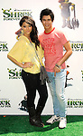 "UNIVERSAL CITY, CA. - May 16: Fivel Stewart and BooBoo Stewart arrive at the ""Shrek Forever After"" Los Angeles Premiere at Gibson Amphitheatre on May 16, 2010 in Universal City, California."