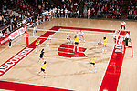 A general view of the Field House during the Wisconsin Badgers NCAA volleyball match against the Michigan Wolverines at the Field House on October 30, 2010 in Madison, Wisconsin. Michigan won the match 3-1. (Photo by David Stluka)