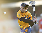 Tony Kelly of Clare scores a point during their Munster Hurling League game against Cork at Cusack Park. Photograph by John Kelly.