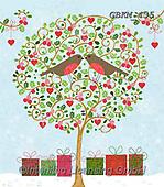 Kate, CHRISTMAS SYMBOLS, WEIHNACHTEN SYMBOLE, NAVIDAD SÍMBOLOS, paintings+++++To the one I love,GBKM435,#xx# ,red robin