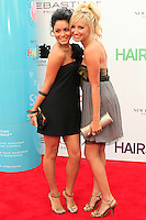 Vanessa Hudgens and Ashley Tisdale at the premiere of 'Hairspray' at the Mann Village Theater in Westwood, Los Angeles, California on July 10, 2007. Photopro.