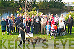 Kerry Earth Week: Mayor of Listowel, Cllr. Tom Barry, SF, planting a tree in Listowel Town Park on Sunday last as part of Kerry Earth Week. The event was organized by Listowel Tidy Towns committee.