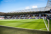 Geberal views of the Liberty Stadium Swansea prior to the the Barclays Premier League match between Swansea City and Everton played at the Liberty Stadium, Swansea  on September 19th 2015
