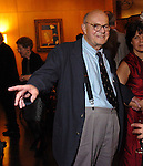 Cy Twombly at the Menil House during a party celebrating the 10th anniversary of the Cy Twombly Gallery Thursday May 26,2005. Twombley died July 5,2011.