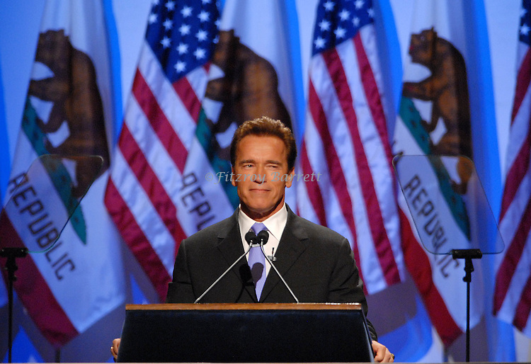Governor Arnold Schwarzenegger Swearing in Ceremony 2007 at the Memorial auditorium Sacramento, Ca. January 5, 2007. Fitzroy Barrett