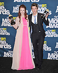 Bryce Dallas Howard and Xavier Samuel at 2011 MTV Movie Awards held at Gibson Ampitheatre in Universal City, California on June 05,2011                                                                               © 2011 Hollywood Press Agency