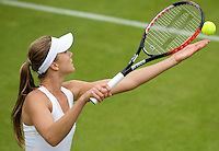 Daniela Hantuchova (SVK) against  Laura Robson (GBR) in the first round of the Ladies Singles. Hantuchova beat Robson 3-6 6-4 6-2  ..Tennis - Wimbledon - Day 1 - Mon 22nd June 2009 - All England Lawn Tennis Club  - Wimbledon - London - United Kingdom..Frey Images, Barry House, 20-22 Worple Road, London, SW19 4DH.Tel - +44 20 8947 0100.Cell - +44 7843 383 012..Tennis - Wimbledon - Day 1 - Monday 22nd June 2009 - All England Lawn Tennis Club  - Wimbledon - London - United Kingdom..Frey Images, Barry House, 20-22 Worple Road, London, SW19 4DH.Tel - +44 20 8947 0100.Cell - +44 7843 383 012