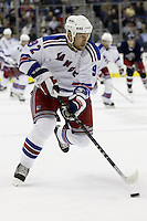 16 January 2006: New York Rangers' Michael Nylander plays against the Columbus Blue Jackets at Nationwide Arena in Columbus, Ohio.<br />