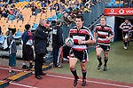 Captain Ben Meyer leads the Counties Manukau team out for their first Premier game. Air NZ Cup game between Counties Manukau & Otago played at Mt Smart Stadium,Auckland on the 29th of July 2006. Otago won 23 - 19.