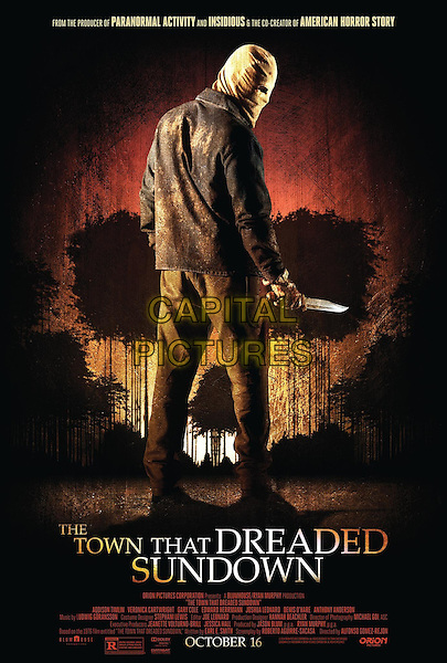 POSTER ART<br /> in The Town That Dreaded Sundown (2014)<br /> *Filmstill - Editorial Use Only*<br /> CAP/NFS<br /> Image supplied by Capital Pictures