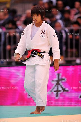 Kaori Matsumoto (-57kg), APRIL 3, 2011 - Judo: All Japan Selected Judo Championships Weight Distinction during Women's - 57kg at Fukuoka Convention Center, Fukuoka, Japan. (Photo by Jun Tsukida/AFLO SPORT) [0003]