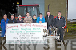PLOUGHING: On Cormac O'Connor's Farmyard Causeway, on a wet and cold spring  Saturday morning the Causeway ploughing  competition was launched. L-r: JP Barrett, Enda  and Jimmy Donegan, Thomas O'Carroll, Jamie,Michael and Michael P Donegan and Chris Barrett...