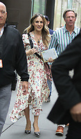 NEW YORK, NY June 138: Sarah Jessica Parker at Today Show promoting her new American Library Association Book Club and first book release with writer Fatima Farheen Mirza in New York City on June 13, 2018. Credit: RW/MediaPunch