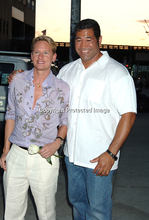 "Carson Kressley and Ezra Tuaolo ..at The Danny Seo Book Party of his new book ""Simply Green: Parties With Friends"" on June 15, 2006 at The Stella McCartney Store. The party was sponsored by Country Home Magazine. ..Robin Platzer, Twin Images"