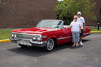 1963 Cruiser Class (#38C) – 1963 Chevrolet Impala Super Sport Convertible registered to Larry Joe Weaver is pictured during 4th State Representative Chevy Show on Thursday, June 30, 2016, in Fort Wayne, Indiana. (Photo by James Brosher)