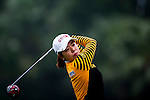 Hyun Min Byun of Korea in action during the Hyundai China Ladies Open 2014 on December 12 2014, in Shenzhen, China. Photo by Xaume Olleros / Power Sport Images