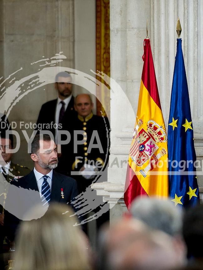 King Felipe VI and King Juan Carlos