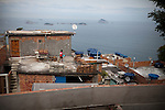 Construction of a home is underway, in favela Vidigal, in Rio de Janeiro, Brazil, on Monday, May 27, 2013. ..