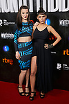 Laura Moray, Aria Bedmar attends to La Caza. Monteperdido premiere at Capitol cinema in Madrid, Spain. March 12, 2019. (ALTERPHOTOS/A. Perez Meca)