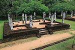 UNESCO World Heritage Site, the ancient city of Polonnaruwa, Sri Lanka, Asia - ruins at Potgul Vihara site