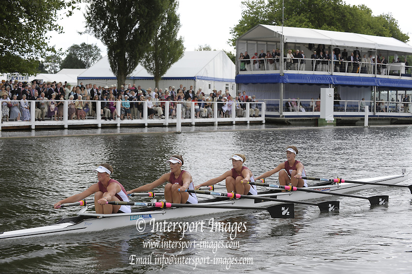 Henley, Great Britain.  NZL W4X, during the closing stages of the heat in the  Princess Grace Challenge Cup. [H. AUSTIN]  2009 Henley Royal Regatta Friday 03/07/2009 at  [Mandatory Credit. Peter Spurrier/Intersport Images] . HRR.