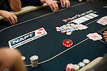 A view of chips and cards