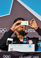 Michael PHELPS - 26.07.2012 - Jeux Olympiques Londres 2012..Photo: Dave Winter / Icon Sport..
