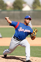 Juan Peralta  -Texas Rangers - 2009 spring training.Photo by:  Bill Mitchell/Four Seam Images