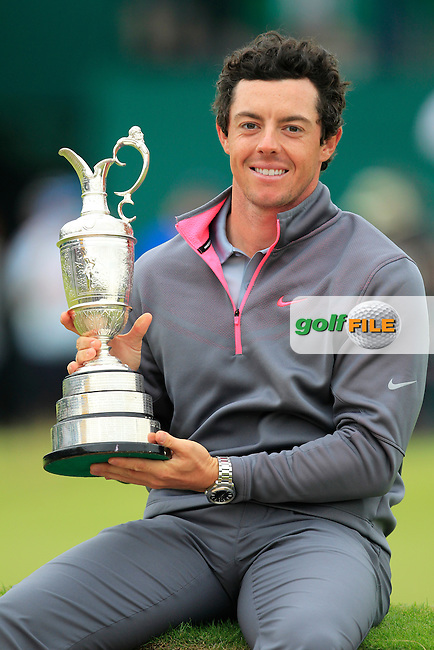 Rory MCILROY (NIR) is the 2014 Open Champion: <br /> Rory shot a final round of one under par to finish on 271 strokes, 17 under par at The 143rd Open championship Royal Liverpool Golf club, Hoylake, England.: Picture Fran Caffrey, \430300837#2}\: 20th July 2014