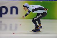 SCHAATSEN: HEERENVEEN: 16-01-2016 IJsstadion Thialf, Trainingswedstrijd Topsport, Mathias Vosté, ©foto Martin de Jong