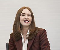 "Karen Gillan, who stars in 'Avengers: Endgame"", at the InterContinental Hotel in Los Angeles. Credit: Magnus Sundholm/Action Press/MediaPunch ***FOR USA ONLY***"