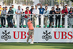 Pariya Junhasavasdikul of Thailand tees off the first hole during the 58th UBS Hong Kong Golf Open as part of the European Tour on 08 December 2016, at the Hong Kong Golf Club, Fanling, Hong Kong, China. Photo by Marcio Rodrigo Machado / Power Sport Images