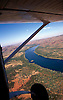 Lake Argyle aerial view from light aircraft