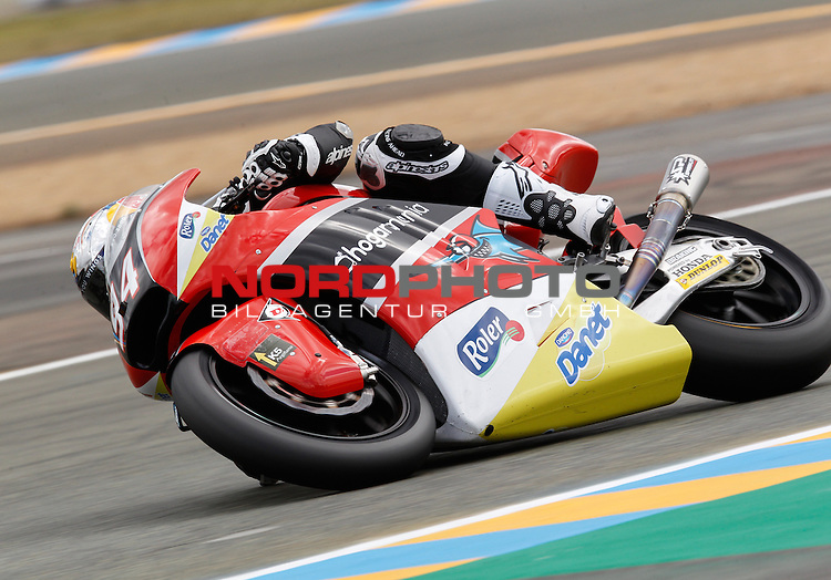 Monster Energy Grand Prix de France in Le Mans 14.-17.05.2015, Free Practice<br /> <br /> 94 Jonas Folger / Deutschland<br /> <br /> Foto &copy; nordphoto / FSA