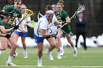 22 February 2015: Duke's Kerrin Maurer. The Duke University Blue Devils hosted the College of William & Mary Tribe on the West Turf Field at the Duke Athletic Field Complex in Durham, North Carolina in a 2015 NCAA Division I Women's Lacrosse match. Duke won the game 17-7.