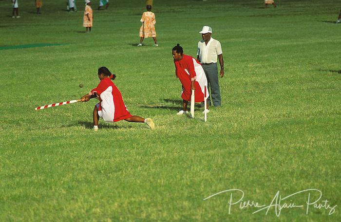 Nouméa, joueuse de cricket