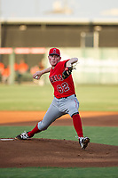 AZL Angels starting pitcher John Swanda (62) delivers a pitch during a game against the AZL Giants on July 9, 2017 at Diablo Stadium in Tempe, Arizona. AZL Giants defeated the AZL Angels 8-4. (Zachary Lucy/Four Seam Images)