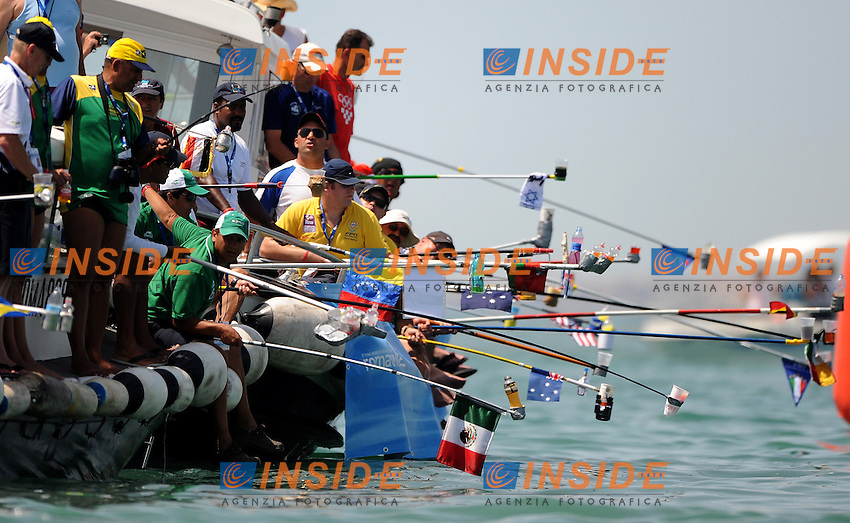 Roma 22th July 2009 - 13th Fina World Championships From 17th to 2nd August 2009....10km open water swimming men..The restoration of the swimmers....photo: Roma2009.com/InsideFoto/SeaSee.com