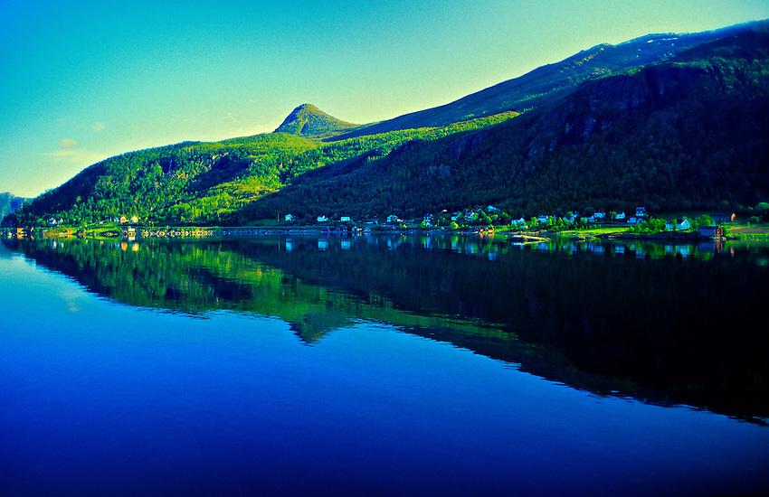 Ornes near Arctic Circle, Northern Norway