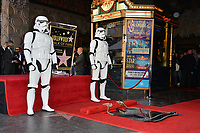 Stormtrooper at the Hollywood Walk of Fame Star Ceremony honoring actor Mark Hamill, Los Angeles, USA 08 March 2018<br /> Picture: Paul Smith/Featureflash/SilverHub 0208 004 5359 sales@silverhubmedia.com
