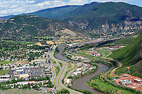 Glenwood Springs, CO aerial