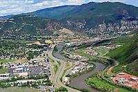 Glenwood Springs, CO aerial