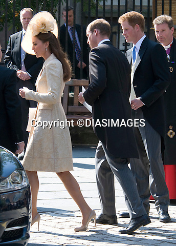 "PRINCE WILLIAM AND KATE.ZARA PHILLIPS & MIKE TINDALL.wedding Canongate Kirk, Edinburgh_30/07/2011.Mandatory Credit Photo: ©DIASIMAGES/NEWSPIX INTERNATIONAL..**ALL FEES PAYABLE TO: ""NEWSPIX INTERNATIONAL""**..No UK Usage until 29/07/2011.IMMEDIATE CONFIRMATION OF USAGE REQUIRED:.DiasImages, 31a Chinnery Hill, Bishop's Stortford, ENGLAND CM23 3PS.Tel:+441279 324672  ; Fax: +441279656877.Mobile:  07775681153.e-mail: info@newspixinternational.co.uk"