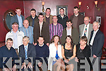 --8644-8648.---------.Chrismas Gifts.--------------.Staff from Lee Strand had a hugh attendance to their annual festive party dinner in the Meadowlands hotel Oakpark Tralee last Saturday night here were some of who attended(seated)L-R Peter Keane,Ted Lynch,Shaun Hulme,Susan O Connell,Mary Ann Dennehy and Breda Stack.(2nd row)L-R Sean O Connor,Jerry Dwyre,Maurice O Connor,Laurance Cotter,John O Keeffe,Leslie Talbot and Patrick Bailey(back)L-R Sean Joy,John O Brien,Con O keeffe,James Fitzgerald and Nicolus Lyons.   Copyright Kerry's Eye 2008