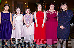 Some of the Skellig Stars ladies at the Gala Ball on Saturday night pictured l-r; Bella Oum, Mary Kate Crowley, Eve North, Ellen O'Donoghue, Aoife Murphy & Fiona O'Neill.