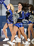 Texas - Arlington Mavericks dance team members perform during the game between the UTA Mavericks and the  Nicholls State University Colonels  held at the University of Texas in Arlington's Texas Hall in Arlington, Texas. UTA defeats Nicholls 69 to 62