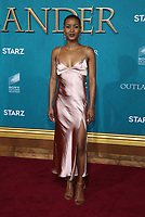"13 February 2020 - Hollywood, California - Andrea Bordeaux. the Premiere Of Starz's ""Outlander"" Season 5 held at Hollywood Palladium. Photo Credit: FS/AdMedia /MediaPunch"